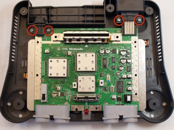 Nintendo 64 Motherboard Replacement