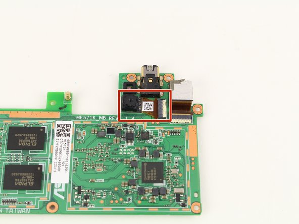 Nexus 7 2nd Generation Front Facing Camera Replacement