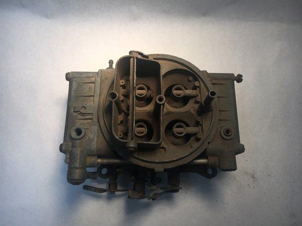 Holley 4 Barrel Carburetor Gasket Replacement