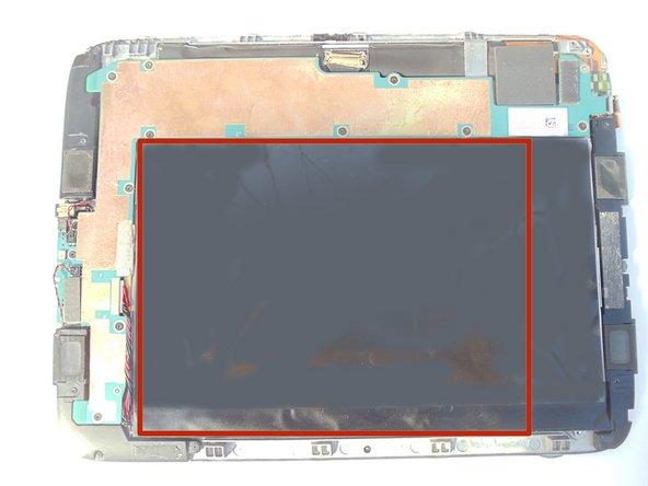 Une fois le panneau arrière retiré, tous les composants internes doivent être visibles.