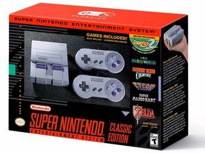 Super Nintendo Classic Edition Repair