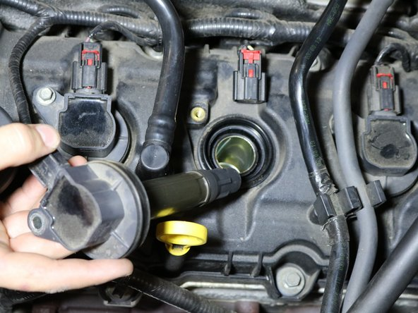 Remove the coil pack from cylinder.