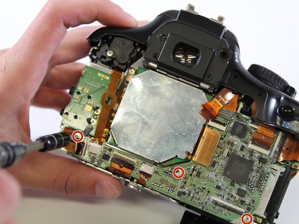 Canon EOS Rebel XSi Mother Board Replacement