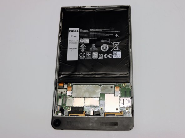 Dell Venue 8 7840 Battery Replacement