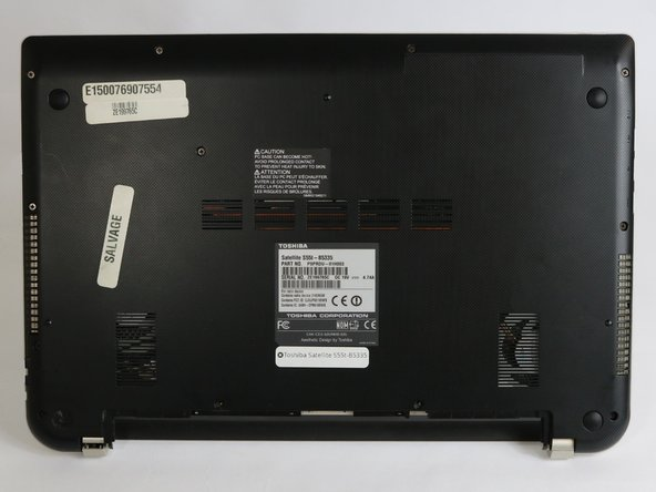 Toshiba Satellite S55T-B5335 Bottom Cover Replacement