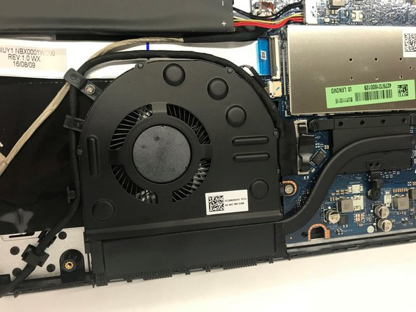 Lenovo Ideapad Flex 4-1570 Cooling Fan Replacement