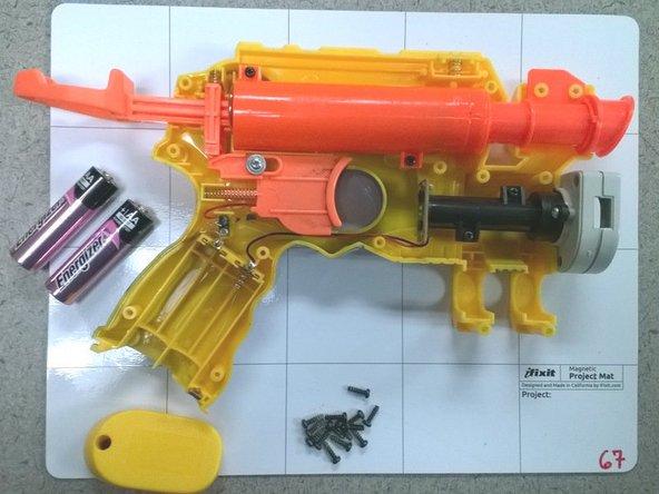 N-Strike Nite Finder EX-3 Battery Replacement