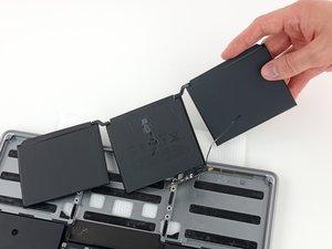 MacBook Pro 13インチ Two Thunderbolt Ports  2020 バッテリーの交換
