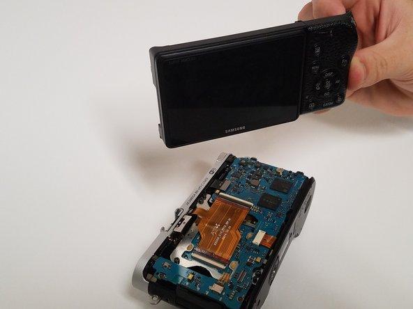 Samsung NX500 Screen Side Encasement Replacement