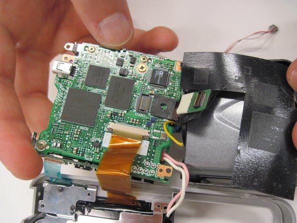 Nikon Coolpix 3500 Logic Board Replacement