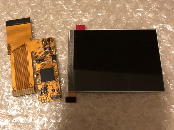 Game Boy Advance IPS Backlight mod