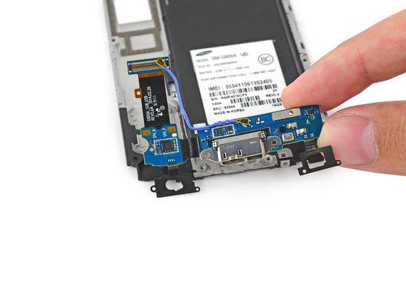 Sostituzione scheda figlia porta micro-USB Samsung Galaxy S5