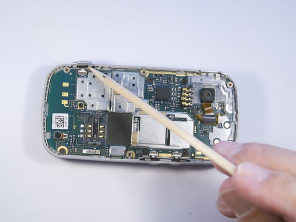 Pantech Matrix Camera Button Replacement