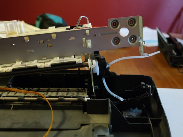 The midframe can now be lifted out of the printer.