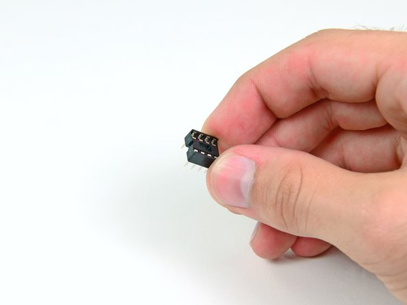Next you will install the IC socket, also known as a CPU socket. IC sockets use a mechanical connection to connect a processor to a printed circuit board. These sockets allows the processor to be easily replaced without the risk of damage associated with soldering processors directly to a circuit board.