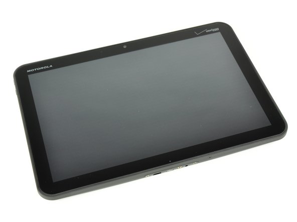 """*Fanfare* Ladies and gentlemen, we present the Motorola Xoom tablet with Android 3.0 """"Honeycomb."""""""