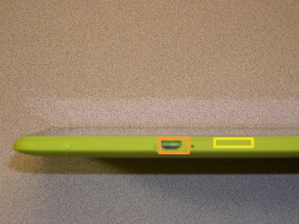 With the appropriate tools on hand, you want to look for the charging port.