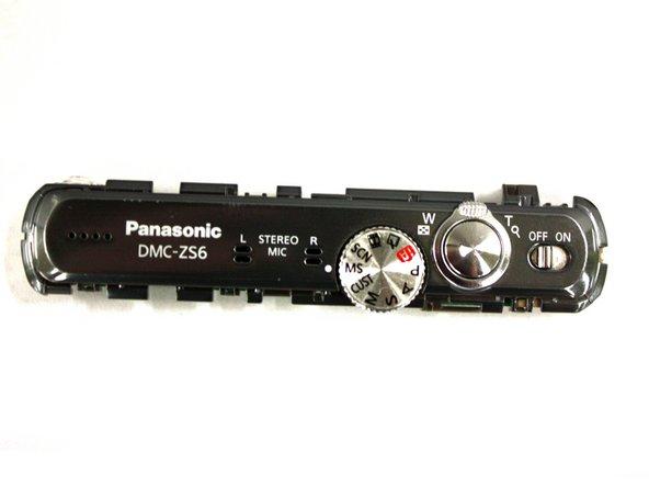 Panasonic Lumix DMC-ZS6 Top Assembly Replacement