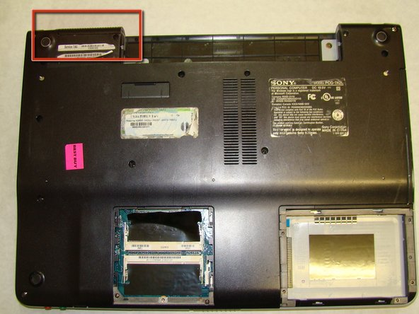 Before you proceed, make sure you pay special attention to the way the small plastic part that covers the radiator fins is held in place.  You will need to know how it attaches when you reassemble the laptop.