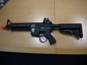 Identifying Combat Machine 16 Carbine and a Raider airsoft guns