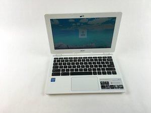 Acer Chromebook CB3-111-C670 Troubleshooting