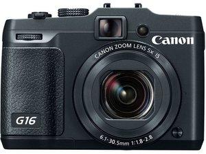 Reparación de Canon PowerShot G16