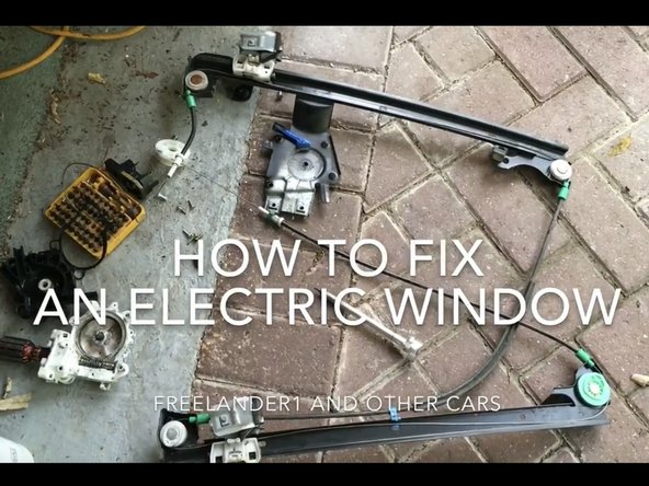 How to Fix and Electric Window