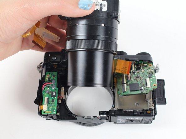 Fujifilm X30 Lens Replacement