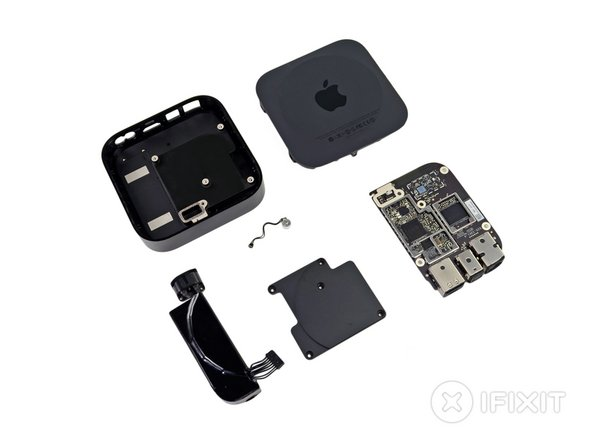 Apple TV (3rd Generation) Repairability: 8 out of 10 (10 is easiest to repair).