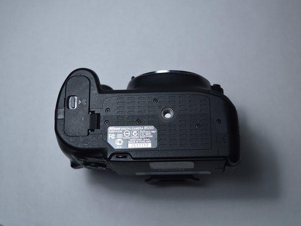 Nikon D5200 Battery Door Replacement