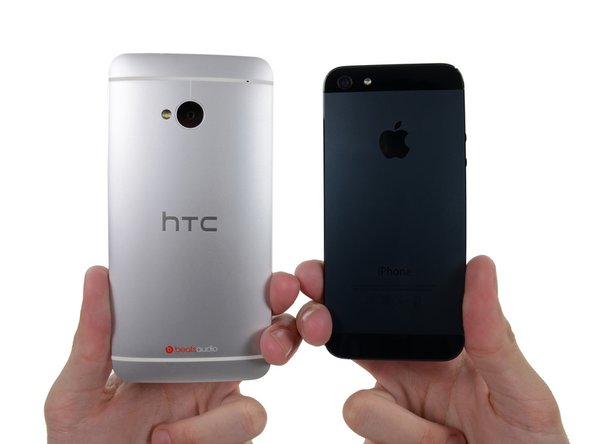 It's no surprise that HTC appears to be taking a cue from the iPhone 5's design pattern in creating a sleek aluminum-bodied phone.