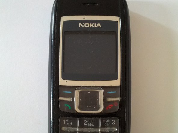 Disassembling Nokia 1600 (RH-44) made by Nokia