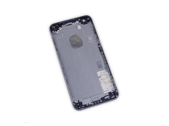 Only the rear case remains.