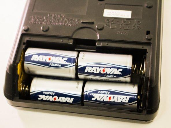 Panasonic RQ-2102 Battery Replacement