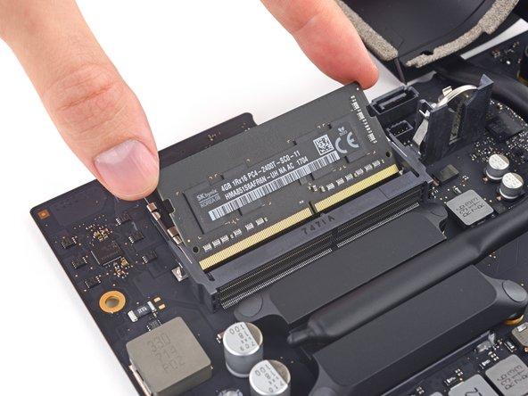 "It may not be as accessible as the (dead simple) RAM hatch found in the 27"" iMacs—but still, this is a major win for upgradability over all the 21.5"" iMacs with soldered RAM that we've encountered in recent years."