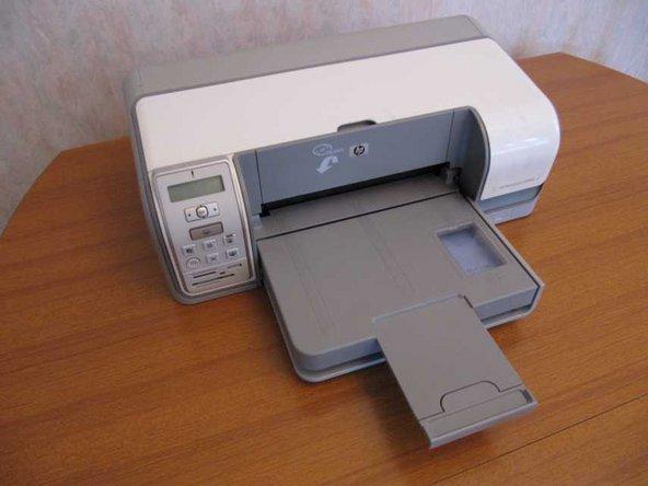 HP Photosmart D5160 printer Disassembly
