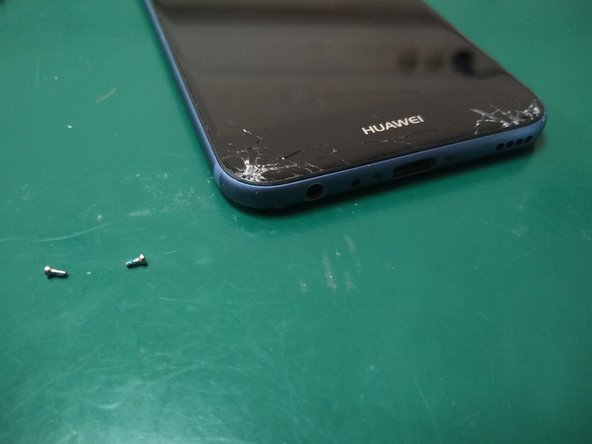 Remove the 2 screws at the bottom that hold the screen module in place.