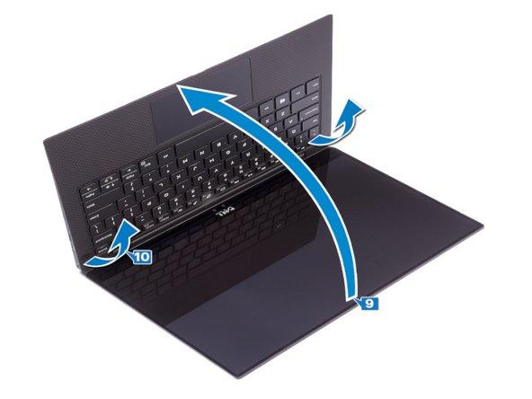Remplacement de l'écran sur un Dell XPS 13 9380