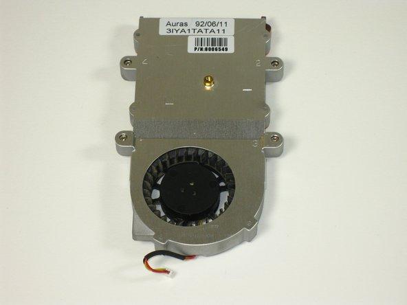 Gateway 600YG2 System Fan Replacement