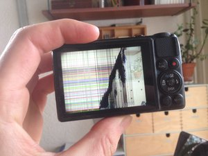 Canon PowerShot S120 Display Replacement