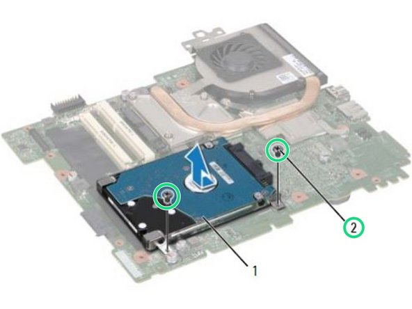 Dell Inspiron n5110 Hard Drive Replacement