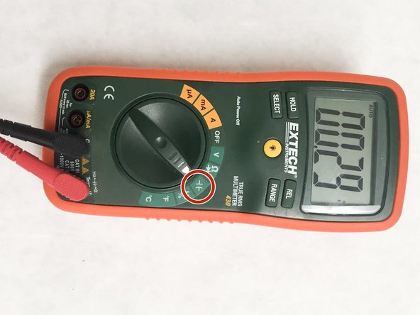 Capacitor Testing: This will require a digital multimeter with a capacitance testing option.