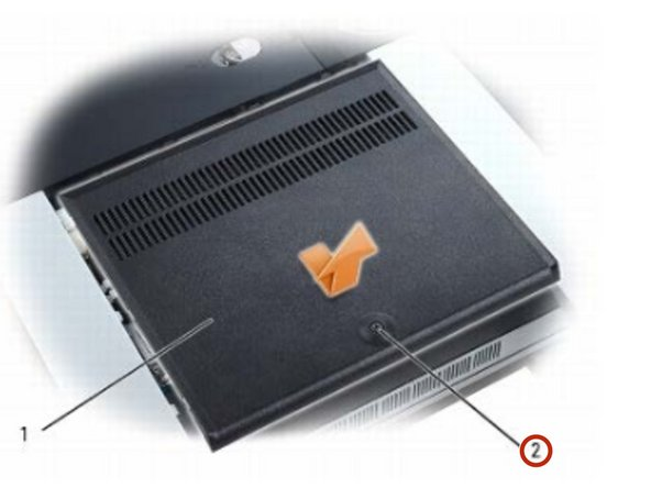 XPS M2010 MXP061 Memory Module Replacement