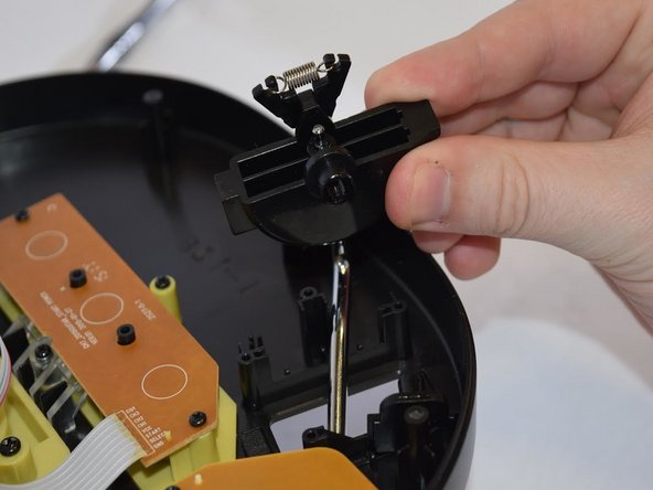 Grab the Whammy Bar by the base of the component, and gently lift to remove the bar.
