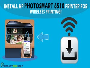 How to Install HP Photosmart 6510 printer for Wireless Printing!