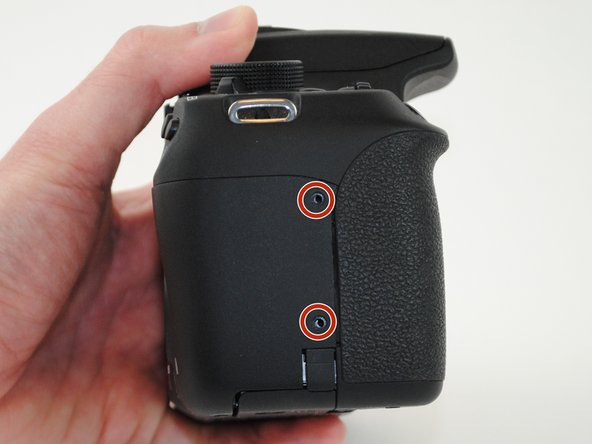 Now turn the camera so that the front is facing towards your right.