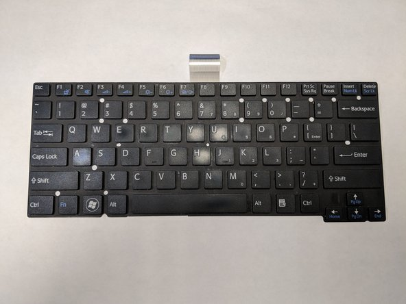 Sony Vaio SVT131A11L Keyboard Replacement
