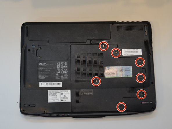 Acer Aspire 4520-5464 Hard Drive Replacement