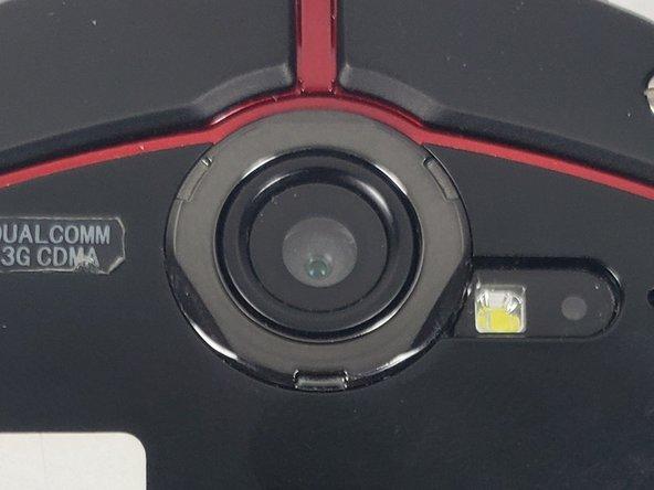 Casio G'zOne Commando Verizon MIL-SPEC Camera Replacement