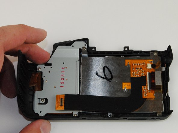 Canon EOS Rebel T5 LCD Screen Replacement